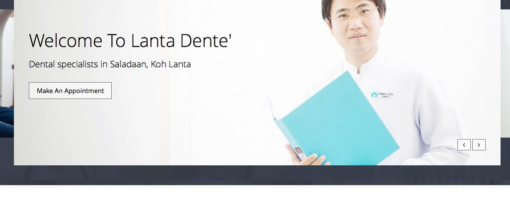 Lanta Dente' Web Design