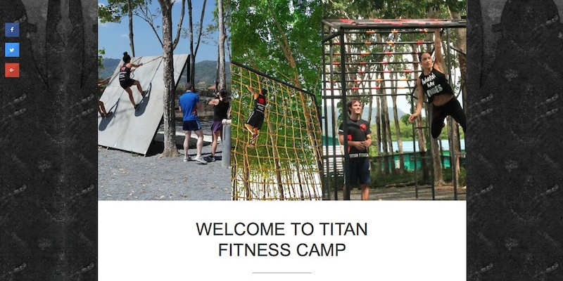 Titan Fitness Camp - Phuket Web Media